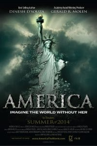 america imagine the world without her, dinesh dsouza,