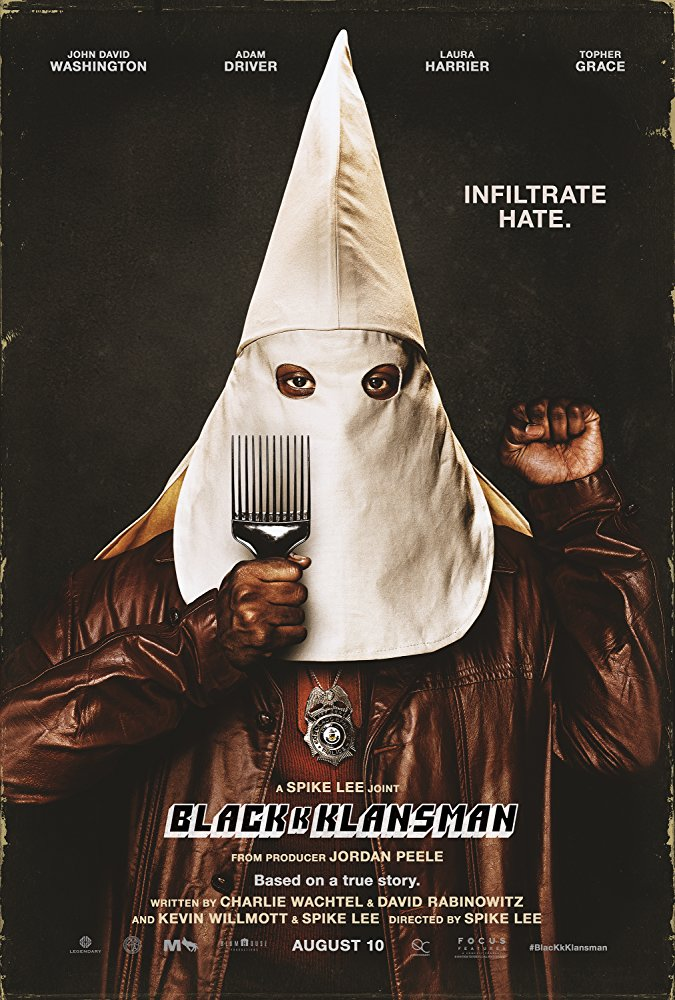 black kkk klansman